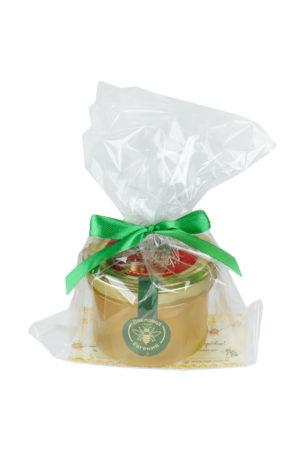 Баночка мёда в упаковке
