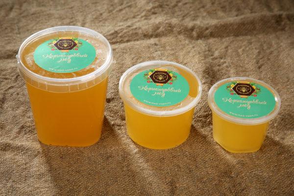 Кориандровый мёд. Урожай 2021 года