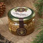 Мёд с кедровыми орешками