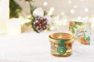 Мёд с орешками